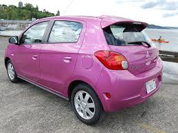 mitsubishi purple 2014 mitsubishi mirage test drive autonation drive automotive blog
