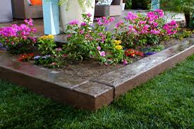 Backyard Flower Bed Ideas Simple Flower Beds Front House Home Landscaping Ideas Porch Bed