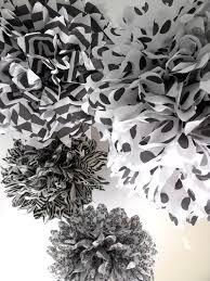 zebra tissue paper 110 best paper pom poms images on paper pom poms