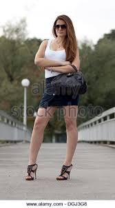 Short Skirts High Heels Mini Skirts Stock Photos U0026 Mini Skirts Stock Images Alamy
