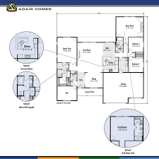 adair home plans the mt hood 198k i like this floorplan but i would