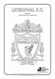 liverpool f c logo coloring page cool coloring pages