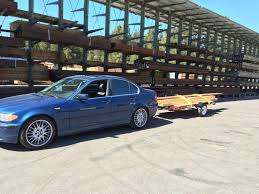 330i pulling small trailer bimmerfest bmw forums