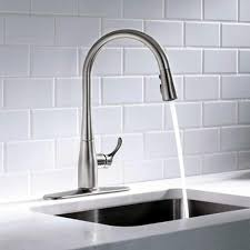kitchen sink faucet deck plate kitchen faucets kitchen sink faucet with 16 5 per 8 in pull down