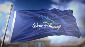 Disney Flag Walt Disney Pictures Flag Waving Slow Motion 3d Rendering Blue Sky