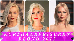 Tolle Kurzhaarfrisuren 2017 by Kurzhaarfrisuren Blond 2017