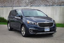 2015 minivan review 2015 kia sedona sxl canadian auto review