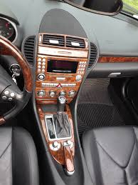 2009 2011 mercedes benz slk wood grain dash trim kit