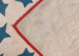 Blue Flag White Star Jeff Bridgman Antique Flags And Painted Furniture American