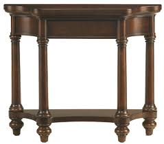 Empire Furniture Corpus Christi Tx by Bassett Louis Philippe Hall Table With 1 Shelf Ahfa Console