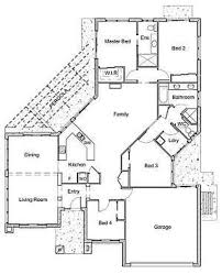 online house plan designer with simple concrete exposed wall