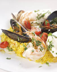 Seafood Recipes For Entertaining Martha by Fish Stew With Saffron Couscous Recipe U0026 Video Martha Stewart