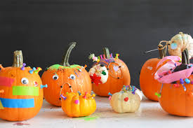 Decorate Pumpkin Halloween Art Project Decorate Pumpkins With Tinker Trays Meri
