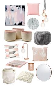 White Pink Living Room by Pink Gold Gray Living Room With White Linen Sofa Curtains Light