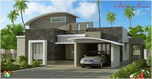 contemporary style villa elevation architecture kerala