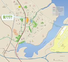 Clu Campus Map Northpark Residences Singapore