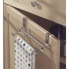 kitchen towel rack ideas cabinet door kitchen towel bar in kitchen towel holders