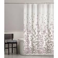 Walmart Mainstays Curtains Mainstays Sylvia Fabric Shower Curtain Walmart Com