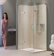 Shower Hinged Door Hinged Door With Hinge Panel For Corner Matki Eauzone Collection