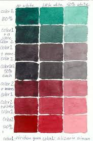 color mixing charts color mixing chart color mixing and charts