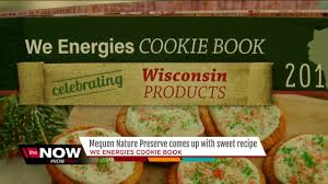 cookie book featuring recipe from mequon nature preserve