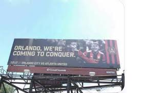 atlanta united have taken their trolling game to orlando u0027s own