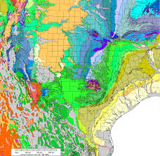 Permian Basin Map Gravity And Magnetic Maps Of Texas