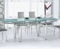 glass top dining table set 6 chairs dining table stainless steel dining table with glass top table