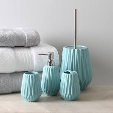 Habitat Bathroom Accessories by Moda Turquoise Bathroom Accessories Pillow Talk