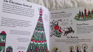 usborne books u0026 more christmas patterns to color youtube