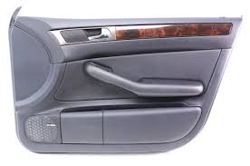 rh front interior door panel card trim 98 04 audi a6 c5 genuine