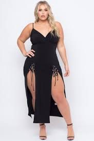 curvy sense trendy plus size little black dresses