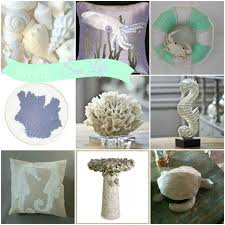 Home Decorations And Accessories by Coastal Round Up Of White Sea Life Decor U0026 Accessories