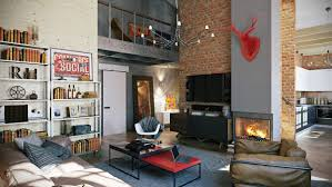 Home Design Loft Style by 3 Stylish Industrial Inspired Loft Interiors