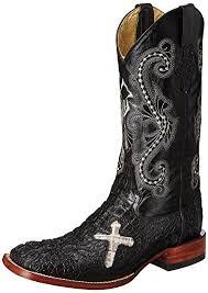ferrini s boots size 11 amazon com ferrini s print caiman cross boot black