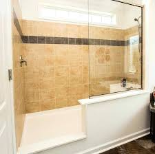 No Shower Door Shower With No Door Tiled Walk In Shower No Door Home Remodel Best