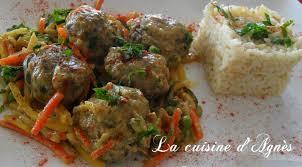 cuisiner des boulettes de boeuf boulettes de viande au curry la cuisine d agnèsla cuisine d agnès
