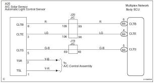 toyota sienna service manual automatic light control sensor