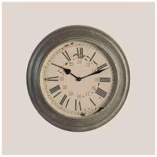 horloge zinc d礬co cuisine bistrot r礬tro vintage boutique cosy d礬co