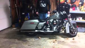 outlaw custom baggers street glide air ride system youtube