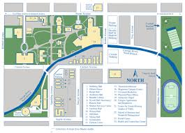 Map River North Chicago by The Council Of Independent Colleges Historic Campus Architecture