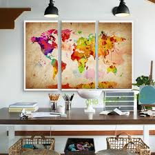 Wall Art Paintings For Living Room Aliexpress Com Buy 3 Pieces Canvas Wall Art Canvas Painting