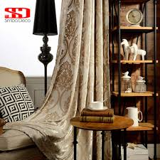 compare prices on deco curtain online shopping buy low price deco velvet luxury curtains for living room fabric blackout drape european damask window curtain for bedroom shading