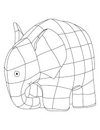 elmer elephant coloring sheet download free elmer elephant