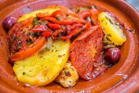 maroc cuisine traditionnel nourriture marocaine orientale cuisine traditionnelle photo stock