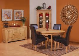 oak dining table and chairs ideas solid extending brown