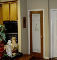 kitchen pantry doors ideas casual kitchen design with frosted glass pantry door decorative