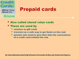 prepaid credit cards for kids an educational partnership between consumer and american