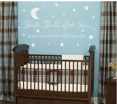 Wall Decal Quotes For Nursery by Moon And Stars Baby Bedding Sets U2022 Baby Bed