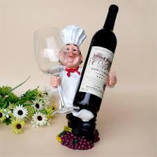 Online Shop Resin Kitchener Men Shape Red Wine Cup Holder - Kitchener wine cabinets
